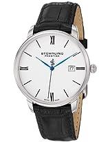Stuhrling Original Analog White Dial Men's Watch - 307L.33152