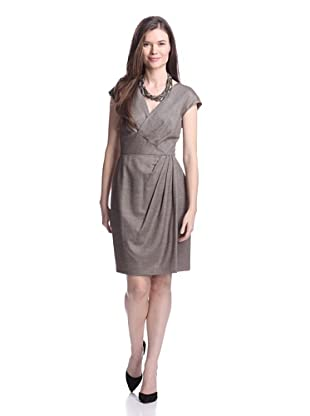 Lafayette 148 New York Women's Elsa Dress (Espresso Multi)