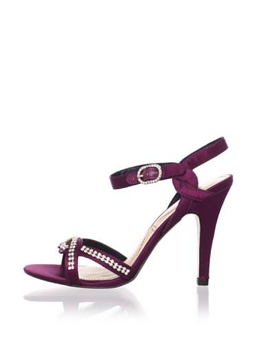 Le Soir Pour La Victoire Women's Estee Sandal (Burgundy)