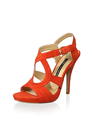 French Connection Women's Desire Sandal (Coral)
