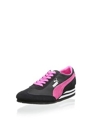 PUMA Women's Caroline Stripe Wedge Sneaker
