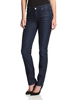 Agave Women's Athena Curvy Cut Straight Leg Jean (Sea Shore)