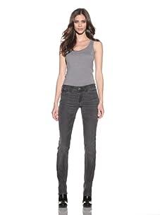 Habitual Denim Women's Alice Skinny 5-Pocket Jeans (Gridlock)
