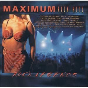 Various Artists - Maximum Rock Hits: Rock Legends