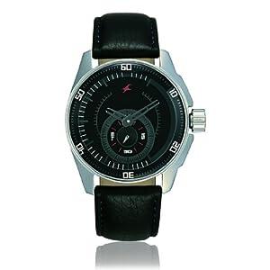 Fastrack NE3089SL04 Men's Wrist Watch-Black