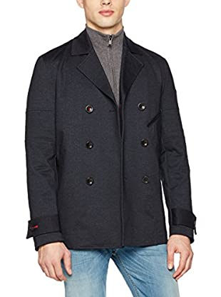 Guess Giacca Denim Printed Peacoat