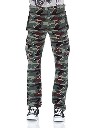 Pepe Jeans London Pantalón Evan (Verde Caqui)