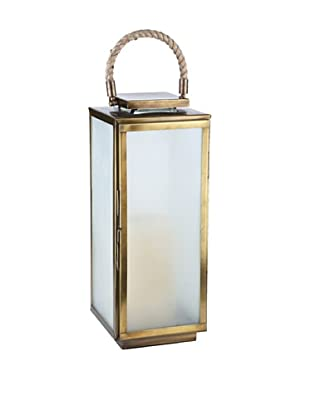 Sidney Marcus Zaro Lantern (Antique Brass)