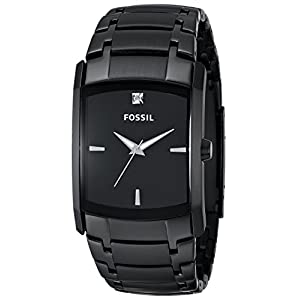 Fossil Analog Black Dial Men's Watch - FS4159
