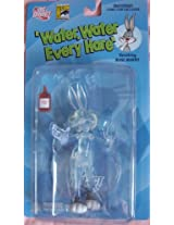2007 - DC Direct / San Diego Comic Con - Water Water Every Hare - Vanishing Bugs Bunny Variant Figure - w/ Stand & Vanishing Fluid Bottle - 1 of 7 000 - Golden Collection Series 3 - New - Very Rare - OOP - Collectible