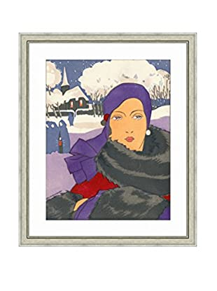Art Source Winter Fashion Lady Print III, Multi