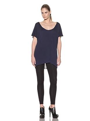Improvd Women's Scoop Neck Knit Top (Blue)