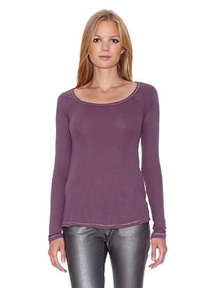Mila Brant Camiseta Ondine (Púrpura)