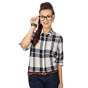 People Country Styled Checkered Shirt