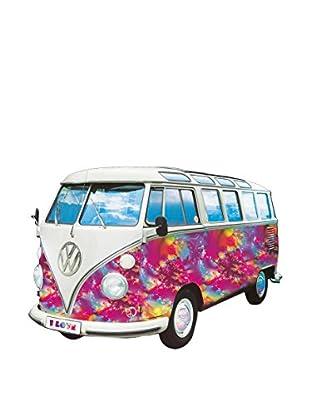 Artopweb Wandbild Vw Camper Love Bunt