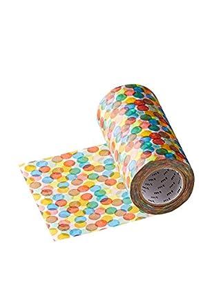 mt Masking Tape Colored Dots Decorative Tape, Multi, 32.8 ft.