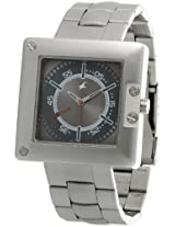 Fastrack SM Upgrades Analog Grey Dial Men's Watch - 3004SM02