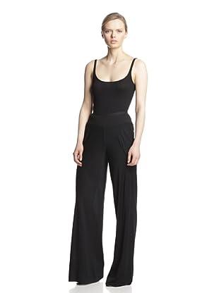 Rick Owens Lilies Women's Wide Leg Pant (Black)