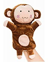 Plush Animal Hand Puppets Funny Toys For Kids, Monkey B