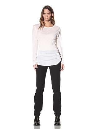 Ann Demeulemeester Women's Long Sleeve Top (Off-White)