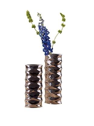 Zanzi Aluminum Vase Set