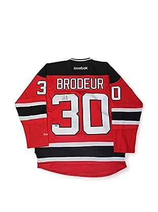 Steiner Sports Memorabilia Martin Brodeur Signed Reebok Premier New Jersey Devils Red Jersey