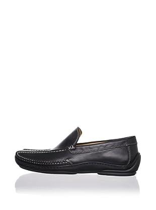 Donald J Pliner Men's Eive Loafer (Black)