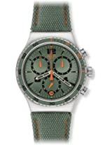 Swatch Analog Green Dial Men's Watch - YVS402