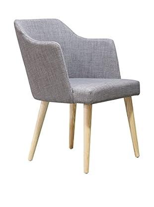 International Designs USA High Mod Dining Chair, Grey