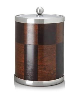 Kraftware American Artisan Ice Bucket (Ebony/Walnut)
