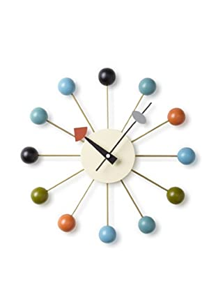 George Nelson Atomic Ball Wall Clock (Multi)