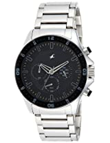 Fastrack Chrono Upgrade Analog Black Dial Men's Watch - ND3072SM01
