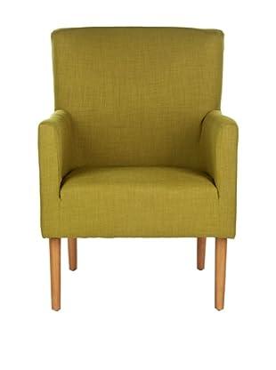 Safavieh Everett Arm Chair, Sweet Pea Green