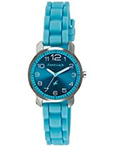 Fastrack Blue Dial Analogue Watch for Women (6111SP02)