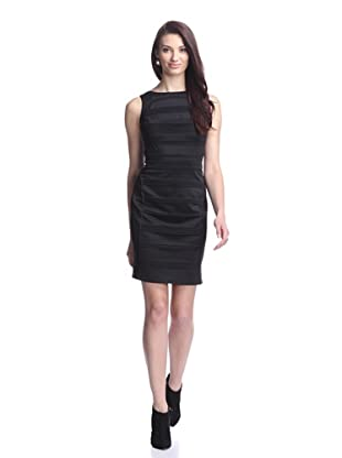 Julia Jordan Women's Scuba Bodycon Knit Dress (Black)