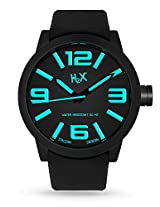 H2X Turbina Analog Black Dial Men's watch - SN395UNA