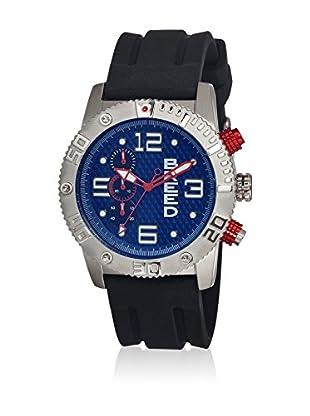 Breed Reloj con movimiento cuarzo japonés Brd3902 Negro 45  mm
