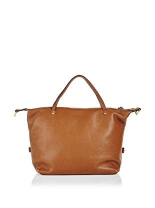 Free for Humanity Bolso Piel Shopping (Camel)