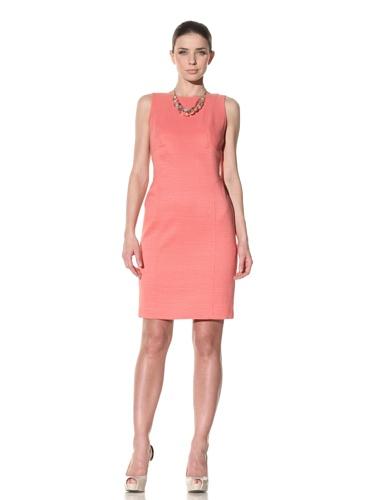 Lafayette 148 New York Women's Architect Weave Sheath Dress (Bellini)