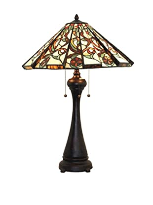 Legacy Lighting Calypso Table Lamp, Crimson Noir