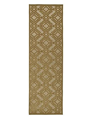 Kaleen Five Seasons Indoor/Outdoor Rug, Light Brown, 2' 6