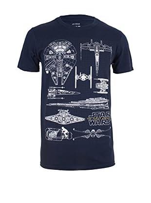 Star Wars T-Shirt Fleet Schematic