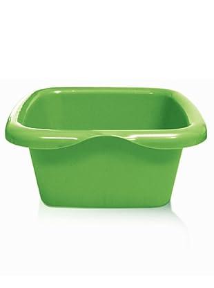 GiòStyle Bacinella Colors Rettangolare 10 Lt (verde)