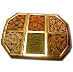 900g Assorted Dry Fruits containing Apricots, Almonds, Cashews, Kishmish, Pistachio and Walnuts 150g each