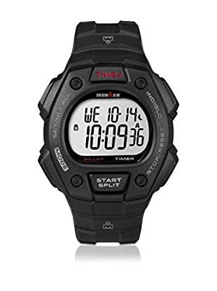 TIMEX Reloj de cuarzo Man Ironman Traditional 30-Lap Negro 41 mm