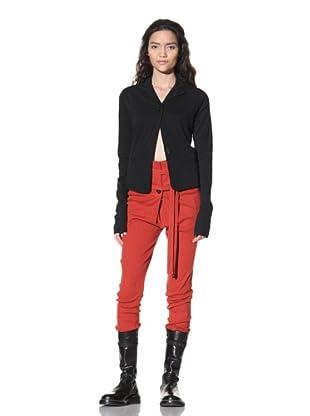 Ann Demeulemeester Women's Jersey Blazer (Black)