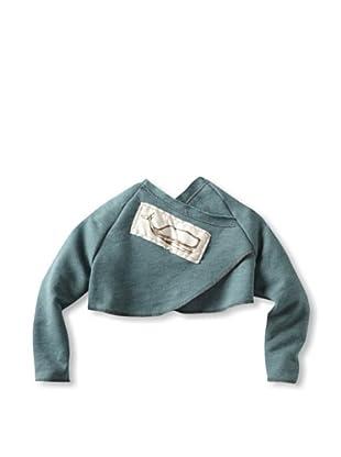 neve/hawk Kid's Carys Cropped Crossback Sweatshirt