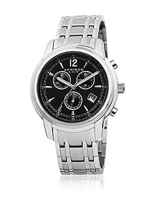 Akribos XXIV Reloj con movimiento cuarzo suizo Man AK692SSB 42 mm