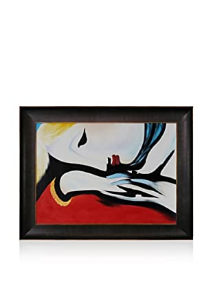 Pablo Picasso Rest Framed Oil Painting, 30 x 40