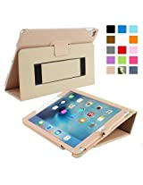 Snugg™ iPad Air 2 Case - Smart Cover with Flip Stand & Lifetime Guarantee (Beige) for Apple iPad Air 2 (2014)